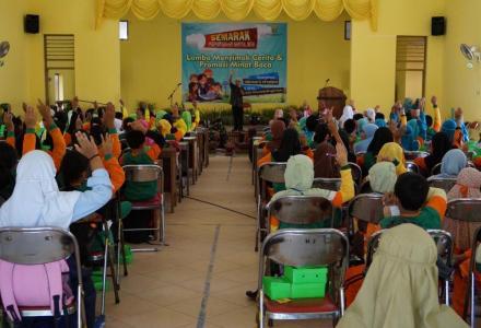 Lomba Menyimak Cerita dan Promosi Minat Baca pada Semarak Perpustakaan Kabupaten Bantul