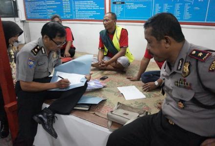 Penilaian Lomba Siskamling Tingkat Polda DIY di Dusun Mantup Baturetno Banguntapan Bantul