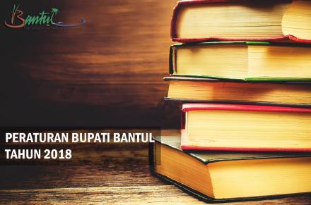 Produk Hukum Kabupaten Bantul Tahun 2018