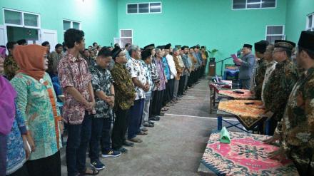 Pelantikan Lembaga Kemasyarakatan Desa Tingkat Pedukuhan Mantup