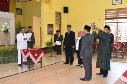 Pelantikan dan Serah Terima Jabatan Kepala Seksi Pelayanan Desa Baturetno