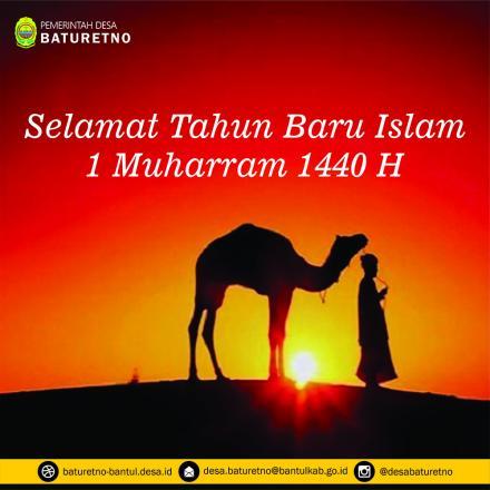 Selamat Tahun Baru Islam 1440 Hijriyah