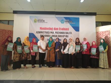 MONITORING DAN EVALUASI POSYANDU BALITA, POSYANDU LANSIA DAN KP IBU TAHUN 2019