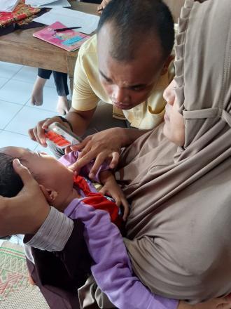 Posyandu Balita Dan Screening Kesehatan Ibu Di Pedukuhan Mantup