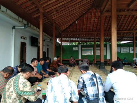Rapat Koordinasi Kampung KB Pedukuhan Gilang