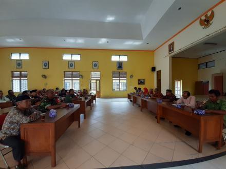 Rapat Rutin Gapoktan Desa Baturetno