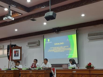 Sosialisasi Peraturan Bupati No 13 Tahun 2020 Tentang Tata Cara Pemberian Pengurangan PBB P2