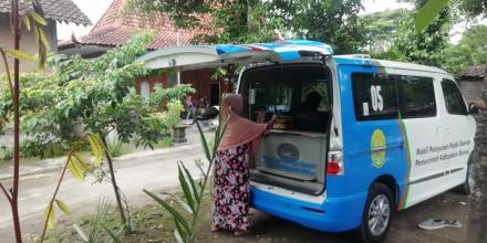 Layanan Mobil Pajak Keliling Desa Baturetno Tahun 2020